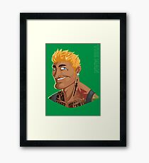 HE-MAN & the Rappers of the Universe Framed Print