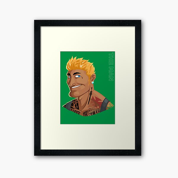 HE-MAN & the Rappers of the Universe Framed Art Print