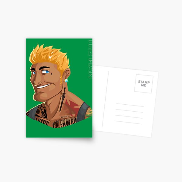 HE-MAN & the Rappers of the Universe Postcard