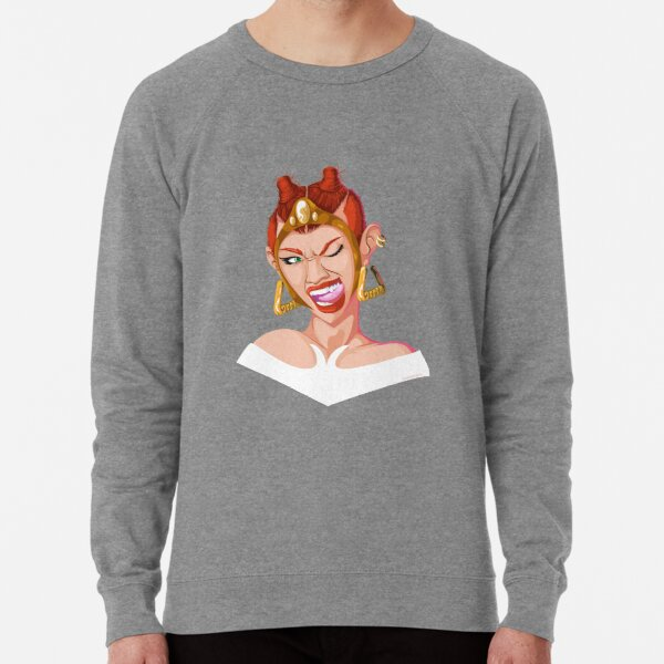 Teela - Rappers of the Universe [He-Man] Lightweight Sweatshirt