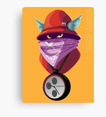 Orko Rappers of the Universe [He-Man] Canvas Print