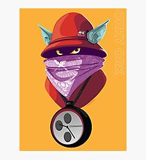 Orko Rappers of the Universe [He-Man] Photographic Print