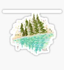Rockies Mirrors Sticker