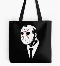 Friday the 13th - Dapper Jason Gore Quarterly Tote Bag