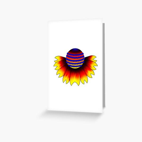 Polyamory Pride Flag Flower Greeting Card