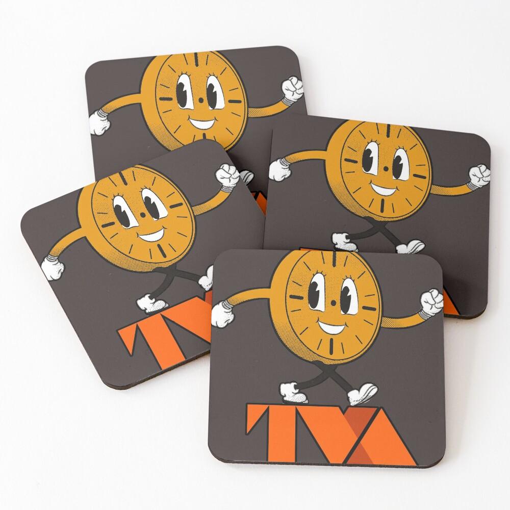 Miss Minutes TVA Coasters (Set of 4)