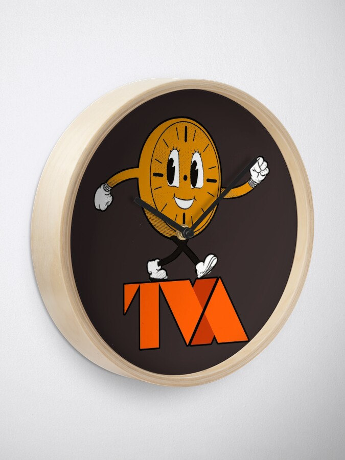 Alternate view of Miss Minutes TVA Clock