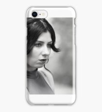 Natural light portrait iPhone Case/Skin
