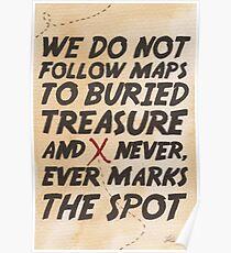 We Do Not Follow Maps Poster