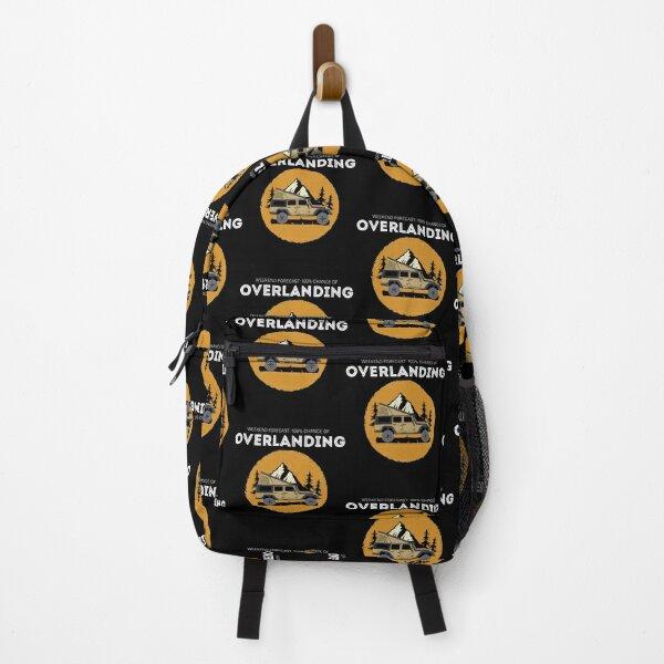 Weekend Forecast Overland Camping Overlanding design Backpack