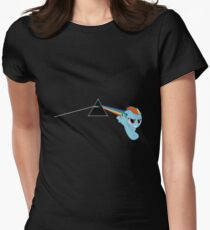 Rainbowdash Womens Fitted T-Shirt