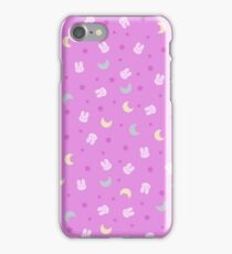 Sailor Moon Crystal Blanket iPhone Case/Skin