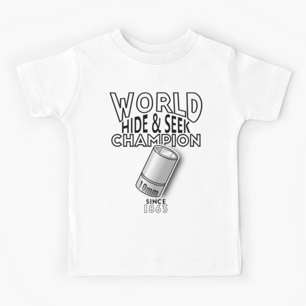 Find Me If You Can! Kids T-Shirt