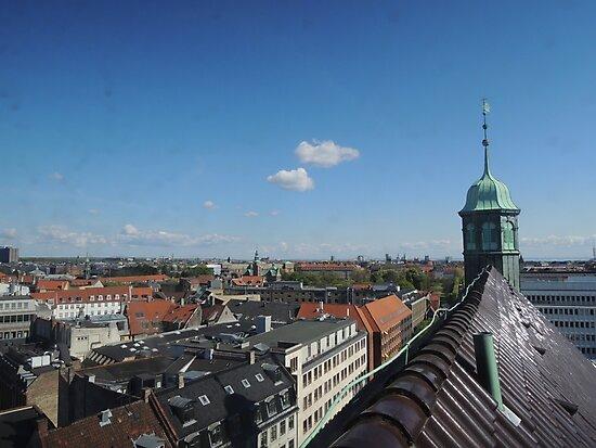 Rooftop seat: Copenhagen by CreativeEm