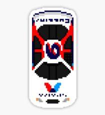 Racing Pixel Art: Mark Martin 2000 Sticker