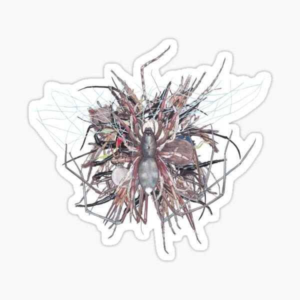 Spider jumble 1 Sticker