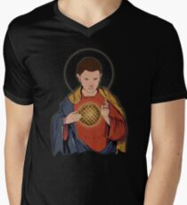 Our Lady 11  Men's V-Neck T-Shirt