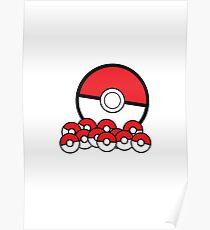 Poke Ball Poster