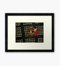 Pick a Partner who Knows what he's Doing Framed Print