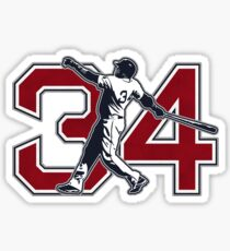34 - Big Papi (original) Sticker