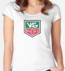 VAG Whore Women's Fitted Scoop T-Shirt