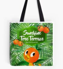 Sunshine Tree Terrace - Home of the Orange Bird Tote Bag