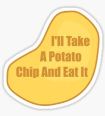 Take a Potato Chip - Death Note Sticker