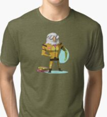 Houston L. Eagle Tri-blend T-Shirt