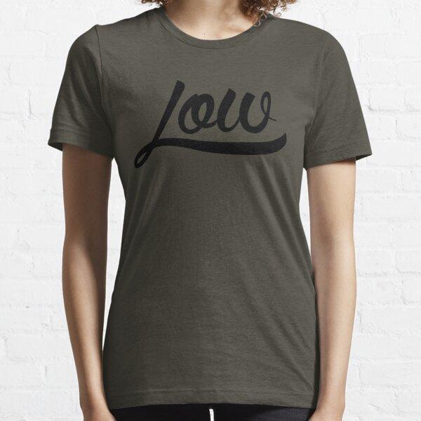 Low Clean [Black Mono] Essential T-Shirt