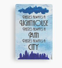 There's Always a Lighthouse Canvas Print