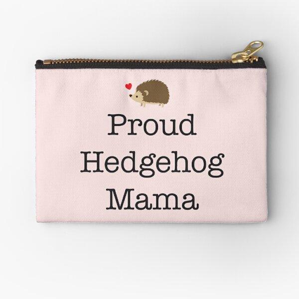 Proud Hedgehog Mama Zipper Pouch