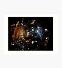 Alien Head VII II Art Print