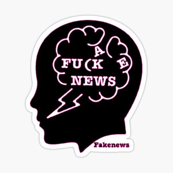 Fake News 01 Sticker