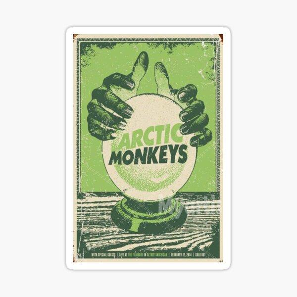 green monkeys two hand Sticker