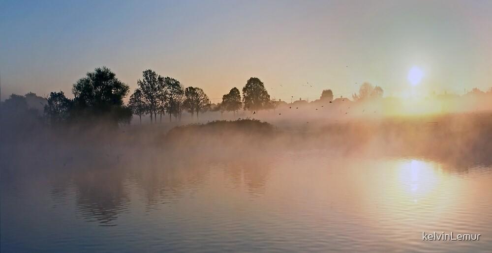 November Sunrise No. 3 by kelvinLemur