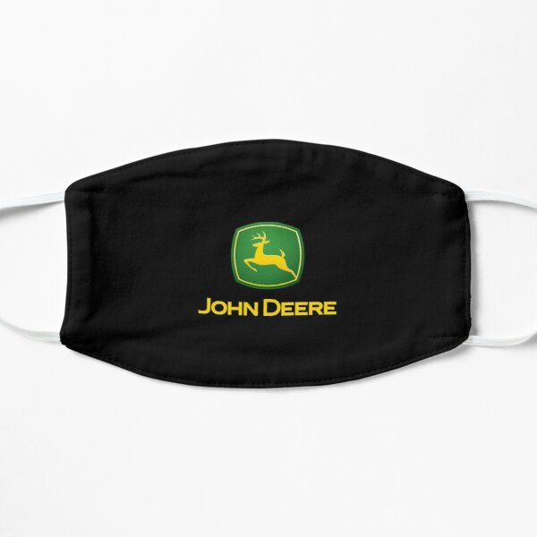 tracteur-logo John Deere Masque sans plis