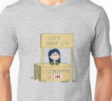 LIFE HELP 5¢ Unisex T-Shirt