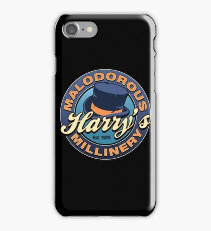Harry's Malodorous Millinery iPhone Case/Skin