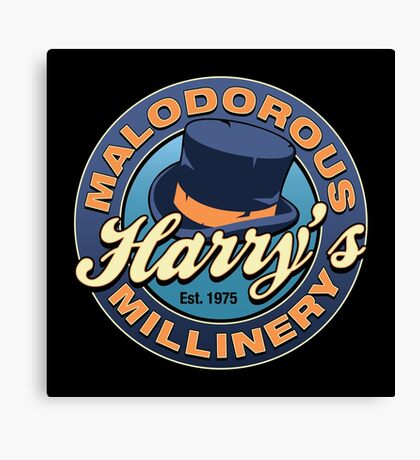Harry's Malodorous Millinery Canvas Print
