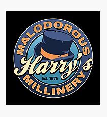 Harry's Malodorous Millinery Photographic Print