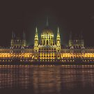 Budapest parliament building by Chris  Staring