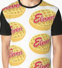 Eleven Eggo (Stranger Things) Graphic T-Shirt