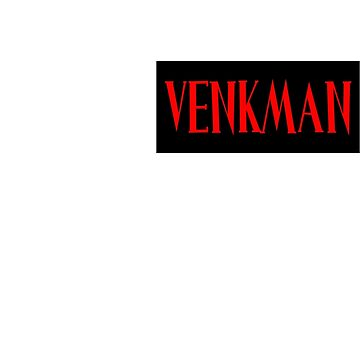 Ghostbusters Venkman Name Tag by clearspace80