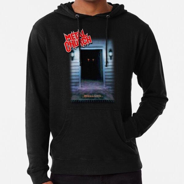Metal Church - The Dark Classic Old School Heavy/Power/Thrash Metal Lightweight Hoodie