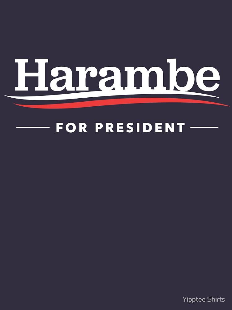 Harambe For President T-Shirt | Unisex T-Shirt