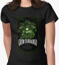 GRIM FANDANGO Womens Fitted T-Shirt