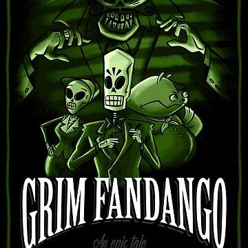 GRIM FANDANGO by klook