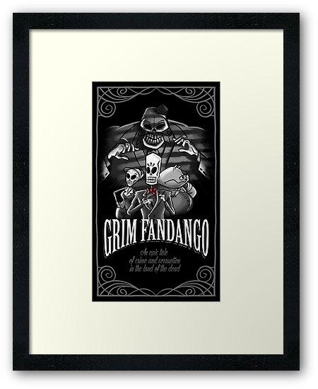GRIM FANDANGO by Denis Klook