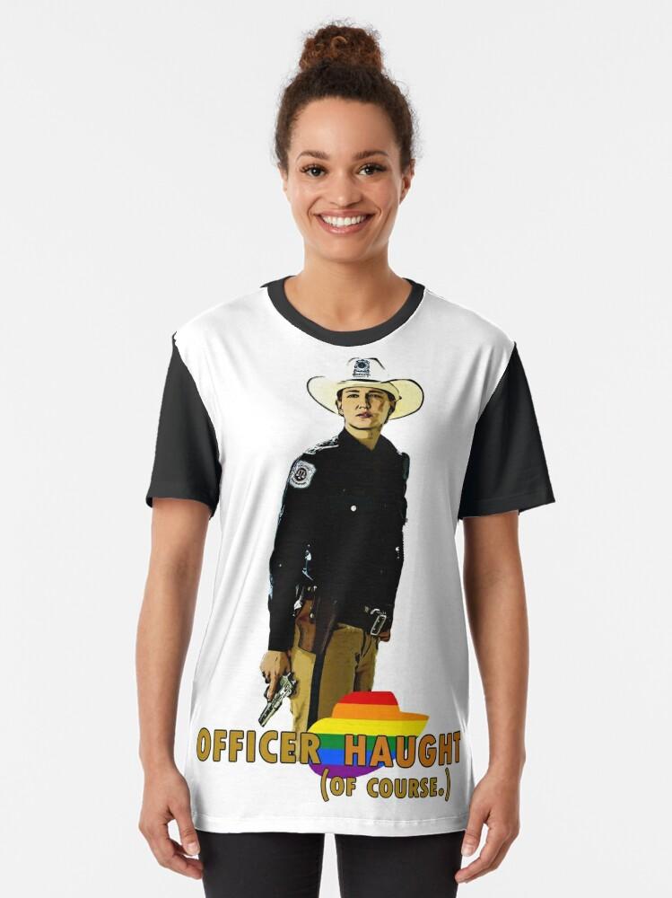 Alternate view of Wynonna Earp - Nicole Haught Graphic T-Shirt