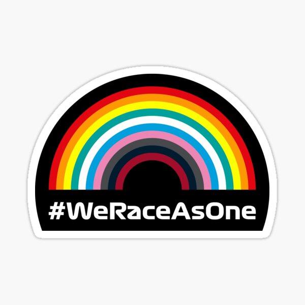 We race as one Sticker